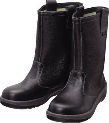 シモン 安全靴 半長靴 7544黒 25.0cm【7544N-25.0】(安全靴・作業靴・安全靴)