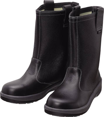 シモン 安全靴 半長靴 7544黒 25.5cm【7544N-25.5】(安全靴・作業靴・安全靴)