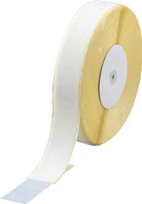 TRUSCO マジックテープ 糊付A側 幅50mmX長さ25m 白【TMAN-5025-W】(梱包結束用品・結束バンド)