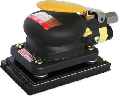 コンパクトツール 非吸塵式ミニオービタルサンダー【813C】(空圧工具・エアサンダー)