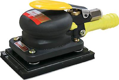 コンパクトツール 吸塵式ミニオービタルサンダー【813CD】(空圧工具・エアサンダー)