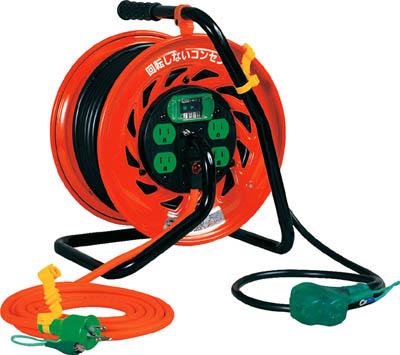 日動 マジックびっくリール アース漏電遮断器付き30m【RZ-EB30S】(コードリール・延長コード・コードリール逆配電型)