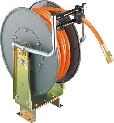 TRIENS エアーホースリール 内径11mm×15m【SHR-40P】(流体継手・チューブ・エアリール)(代引不可)