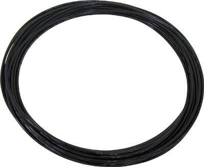 チヨダ TPタッチチューブ 6mmX100m 黒【TP-6X4.0-100  BK】(流体継手・チューブ・エアチューブ・ホース)