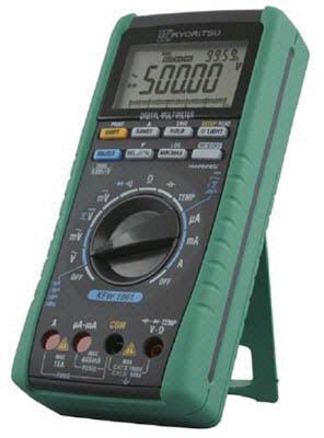 KYORITSU デジタルマルチメータ(スタンダードモデル)【KEW1061】(計測機器・マルチメーター)