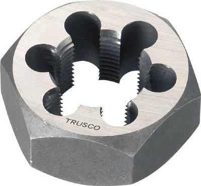TRUSCO 六角サラエナットダイス 並目 M33X3.5【TD6-33X3.5】(ねじ切り工具・ねじ山修正工具)