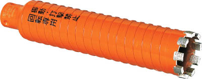 ミヤナガ ドライモンドコアポリカッター Φ110(刃のみ)【PCD110C】(穴あけ工具・コアドリルビット)