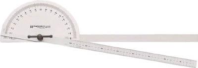 SK プロトラクタ No.400 2本竿【PRT-400SW】(測定工具・分度器)