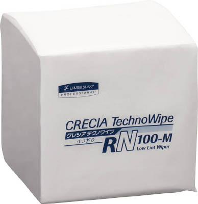 クレシア クレシア テクノワイプ RN-100M 4つ折り【63480】(理化学・クリーンルーム用品・クリーンルーム用ウエス)