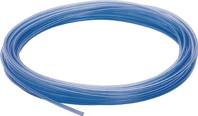 ピスコ ウレタンチューブ 透明青 12X8.0 100M【UB1280-100-CB】(流体継手・チューブ・エアチューブ・ホース)