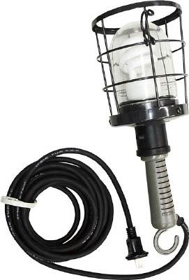 ハタヤ 防雨型蛍光灯ハンドランプ 単相100V 10W 電線10m付【CWF-10D】(作業灯・照明用品・作業灯)