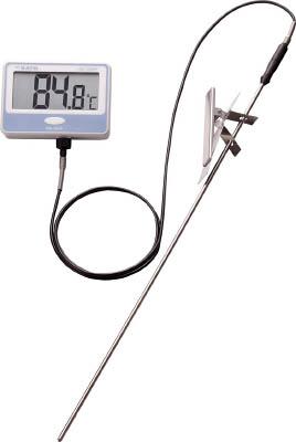 佐藤 壁掛型防水デジタル温度計(標準センサ)【S100WP-01】(計測機器・温度計・湿度計)