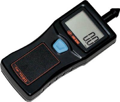 ライン精機 接触式ハンドタコメーター【TM-7020】(計測機器・振動計・回転計)