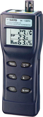 日本に 結露チェッカー(放射温度計付)【SK-130ITH】(計測機器・温度計・湿度計):リコメン堂インテリア館 佐藤-DIY・工具