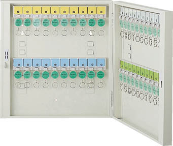 TRUSCO TRUSCO キーボックス ホルダ数40個【K-40 キーボックス】(オフィス家具・キーボックス), 井手町:6f6dc6e2 --- officewill.xsrv.jp