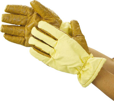 TRUSCO クリーンルーム用耐熱手袋 26CM フリーサイズ【TPG-650】(理化学・クリーンルーム用品・クリーンルーム用手袋)