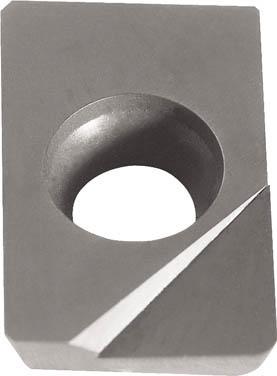 京セラ ミーリング用チップ ダイヤモンド KPD010【NDCW150302FRX  KPD010】(旋削・フライス加工工具・チップ)