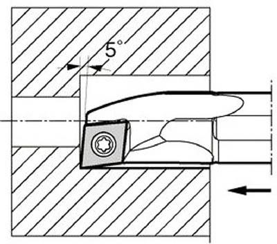 京セラ 内径加工用ホルダ【S20R-SCLPR09-22A】(旋削・フライス加工工具・ホルダー)