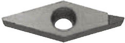 京セラ 旋削用チップ ダイヤモンド KPD001【VBMT110301 KPD001】(旋削・フライス加工工具・チップ)
