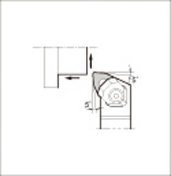 京セラ 外径加工用ホルダ 【WWLNL2020K-08】(旋削・フライス加工工具・ホルダー)