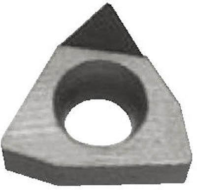 京セラ 旋削用チップ ダイヤモンド KPD001【WBMT080204L  KPD001】(旋削・フライス加工工具・チップ)