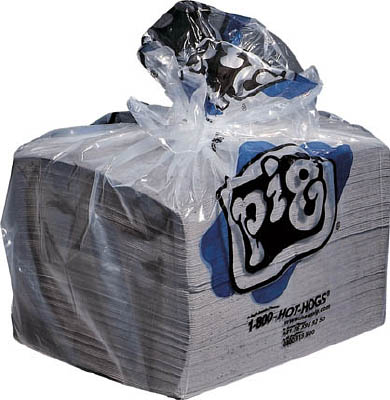 pig ピグ油専用エコノミーマット ミシン目入り (200枚/箱)【MAT423A】(清掃用品・吸収材)