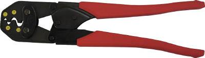 エビ エビ 裸圧着端子用圧着工具 使用範囲 5.5・8・14・22【AK22A】(電設工具・圧着工具)