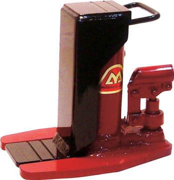 マサダ 爪付油圧ジャッキ【MHC1TL】(ウインチ・ジャッキ・油圧ジャッキ)