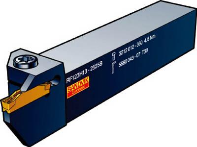 サンドビック コロカット3 突切り・溝入れシャンクバイト【LF123U06-1616BM】(旋削・フライス加工工具・ホルダー)