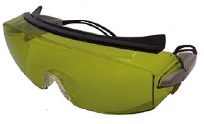 リケン レーザーメガネ RS-80 YGEP【RS-80 YGEP】(保護具・レーザー用保護メガネ)