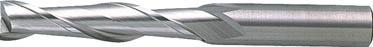 三菱K 2枚刃汎用エンドミルロング24.0mm【2LSD2400】(旋削・フライス加工工具・ハイススクエアエンドミル)【送料無料】