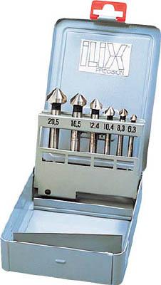 ILIX カウンターシンクセット6本組【6277-S】(面取り工具・カウンターシンク)