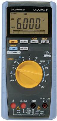 横河 ディジタルマルチメータ【TY520】(計測機器・マルチメーター)