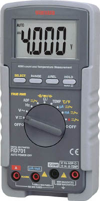 SANWA デジタルマルチメータ 真の実効値対応【RD701】(計測機器・マルチメーター)