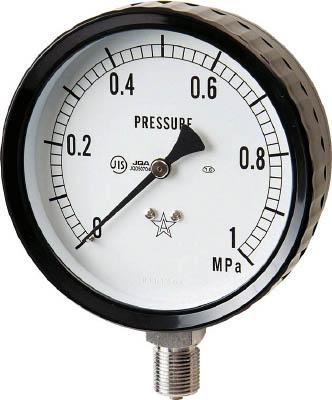 右下 ステンレス圧力計【G311-261-1MP】(計測機器・圧力計)