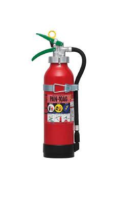 ドライケミカル 自動車用消火器10型【PAN-10AG1】(防災・防犯用品・消火器)