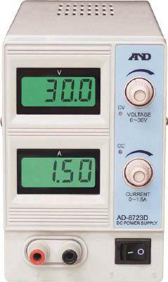 A&D 直流安定化電源 30V 1.5A【AD8723D】(電気・電子部品・電源装置)
