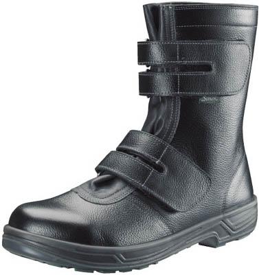 シモン 安全靴 長編上靴マジック式 SS38黒 24.0cm【SS38-24.0】(安全靴・作業靴・安全靴)