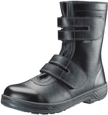 シモン 安全靴 長編上靴マジック式 SS38黒 24.5cm【SS38-24.5】(安全靴・作業靴・安全靴)