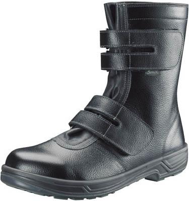 シモン 安全靴 長編上靴マジック式 SS38黒 25.5cm【SS38-25.5】(安全靴・作業靴・安全靴)
