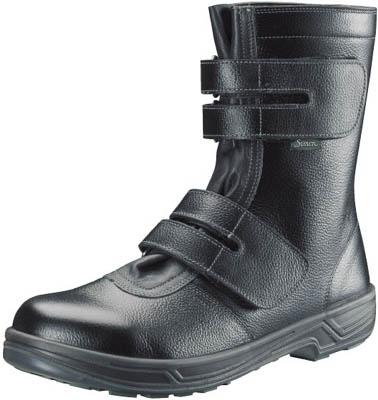 シモン 安全靴 長編上靴マジック式 SS38黒 26.0cm【SS38-26.0】(安全靴・作業靴・安全靴)