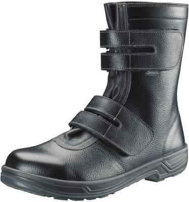 シモン 安全靴 長編上靴マジック式 SS38黒 28.0cm【SS38-28.0】(安全靴・作業靴・安全靴)