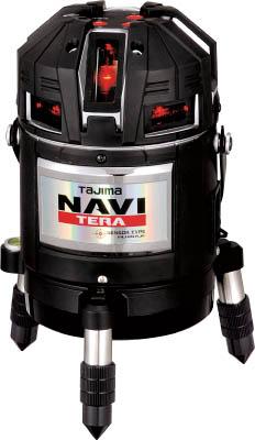タジマ NAVI TERA センサー 矩十字・横全周/10m/IP【ML10N-KJC】(測量用品・レーザー墨出器)(代引不可)