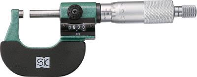 SK カウントマイクロメータ【MC122-25C】(測定工具・マイクロメーター)