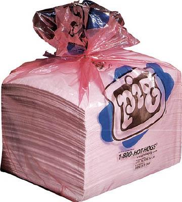 pig ピグスタットマット(帯電防止処理加工) ミシン目入り (100枚/箱)【MAT214A】(清掃用品・吸収材)