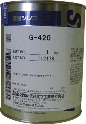 信越 高温潤滑用シリコーングリース 1kg【G420-1】(化学製品・グリス・ペースト)