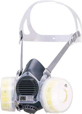 シゲマツ 取替え式防じんマスク【DR80SN3M】(保護具・取替式防じんマスク)