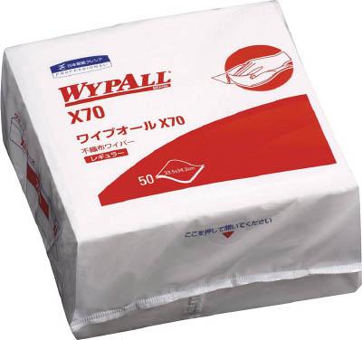 クレシア ワイプオールX70 4つ折り【60570】(清掃用品・ウエス)
