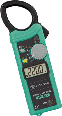 KYORITSU ACデジタルクランプメータ【KEW2200】(計測機器・クランプメーター)