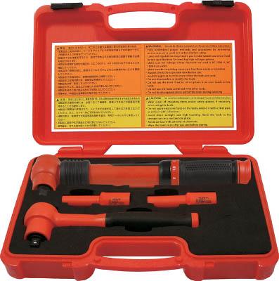 Tech-EV 絶縁工具セット ミニ 4点セット【TEVSETMINI】(防爆・絶縁工具・工具セット(絶縁))